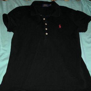 Collar button Polo short sleeve shirt
